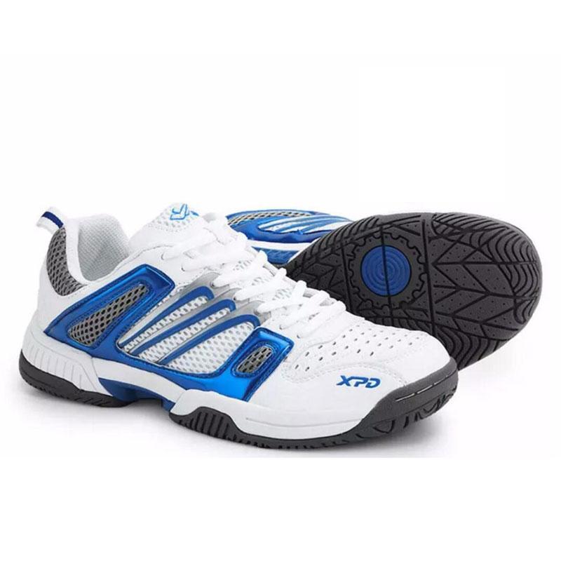 Chaussures de Tennis de stabilité pour hommes baskets en maille respirante femmes amortissement chaussures d'entraînement portables antidérapantes D0435