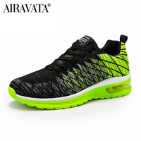 Green-Couple Running Shoes Fashion Comfortable Breathable Outdoor Lightweight Sneakers