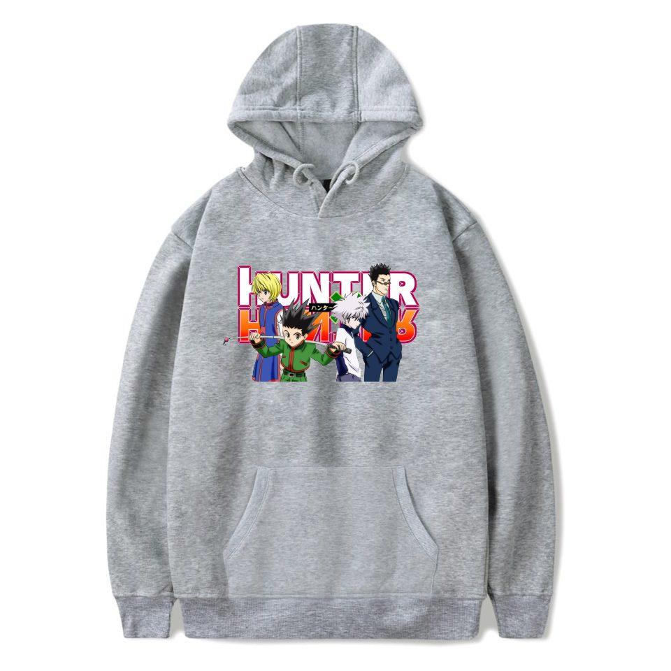 Hunter X Hunter Hoodies Men Sweatshirt Tracksuit Streetwear Anime Harajuku Casual Clothes Hunter X Hunter Hooded Tops XXS-4XL