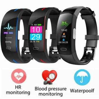Fashion Smart Bracelet Smart Watches P3 Plus Smart Wristband Dynamic Heart Rate Monitor Color Screen Waterproof Fitness Tracker