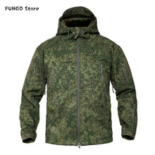 Jackets Clothing Tactical-Uniform Army Military Softshell Camouflage Male Waterproof