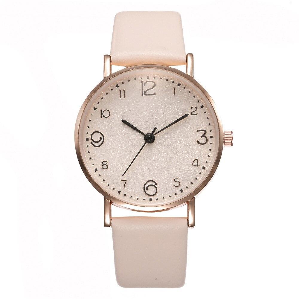 Hot Simple Quartz Women`s Wrist Watch Women Luxury Arabic Numerals Dial Features Ladies Watches relogio feminino03