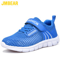 JMBEAR children's shoes boys summer new hollow mesh breathable sneakers comfortable soft bottom casual shoes детская обувь