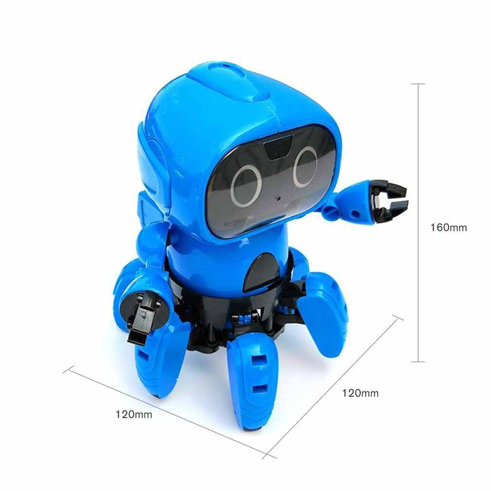 OCDAY 963 Indução Inteligente de Controle Remoto RC Robot Toy Modelo com Seguinte Gesto Sensor de desvio de Obstáculos para Caçoa o Presente Presente