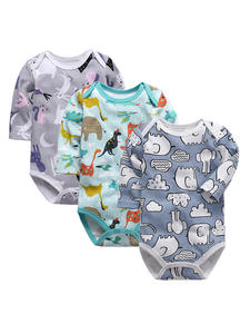 Newborn Bodysuit Long-Sleeve Printing Bebes Infant Baby Babies Cotton 1pcs 0-24-Months
