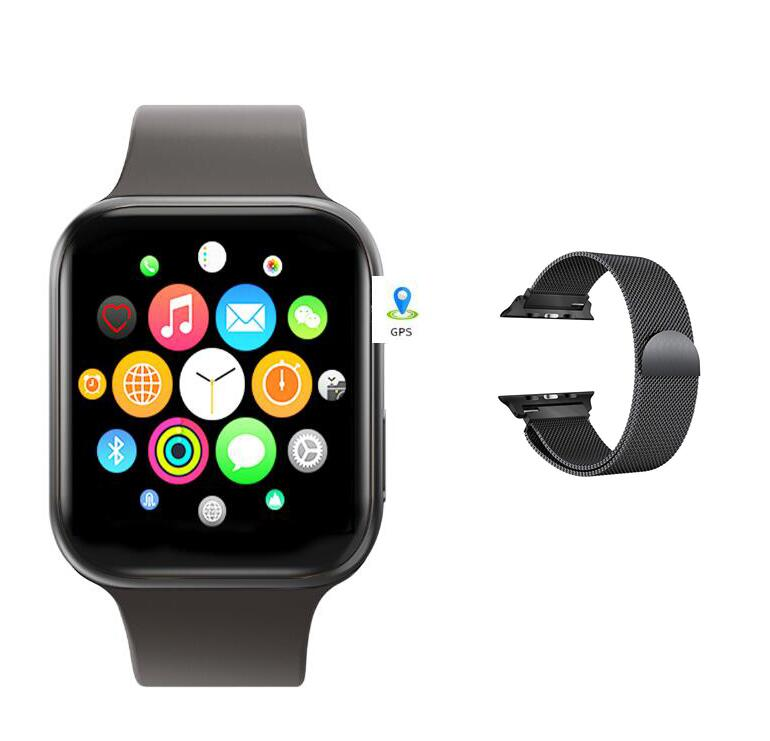 IWO 11 GPS Bluetooth Smart Watch 1:1 SmartWatch 44mm Series 5 for Apple iOS Android Heart Rate Blood Pressure IWO 8 9 10 update image