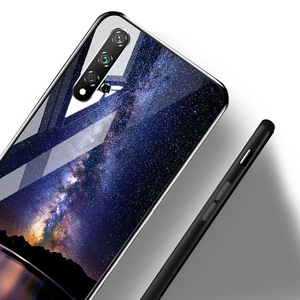 """Image 4 - Tempered Glass Case For Samsung A02s Cases Silicon Painted Capas For Samsung Galaxy A02s A 02s SM A025F 6.5"""" Hard Cartoon Bumper"""