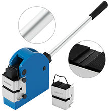 2-in-1 blatt metall Shrinker und Bahre Set Blatt Metall Bender Solide Konstruktion Manuelle Expansion Maschine