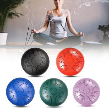 Ethereal Drum Steel Tongue Drum Hand Drum Percussion Home Musical Instrument Practice Accessories Ethereal Drum Percussion фото