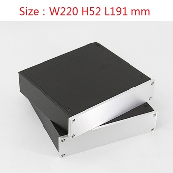 2205 DAC Amplifier Case Aluminum Chassis Power Supply DIY Case Size(mm): W220 H52 L191