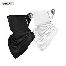 Wosawe Велоспорт головной убор Быстросохнущий шейный теплый