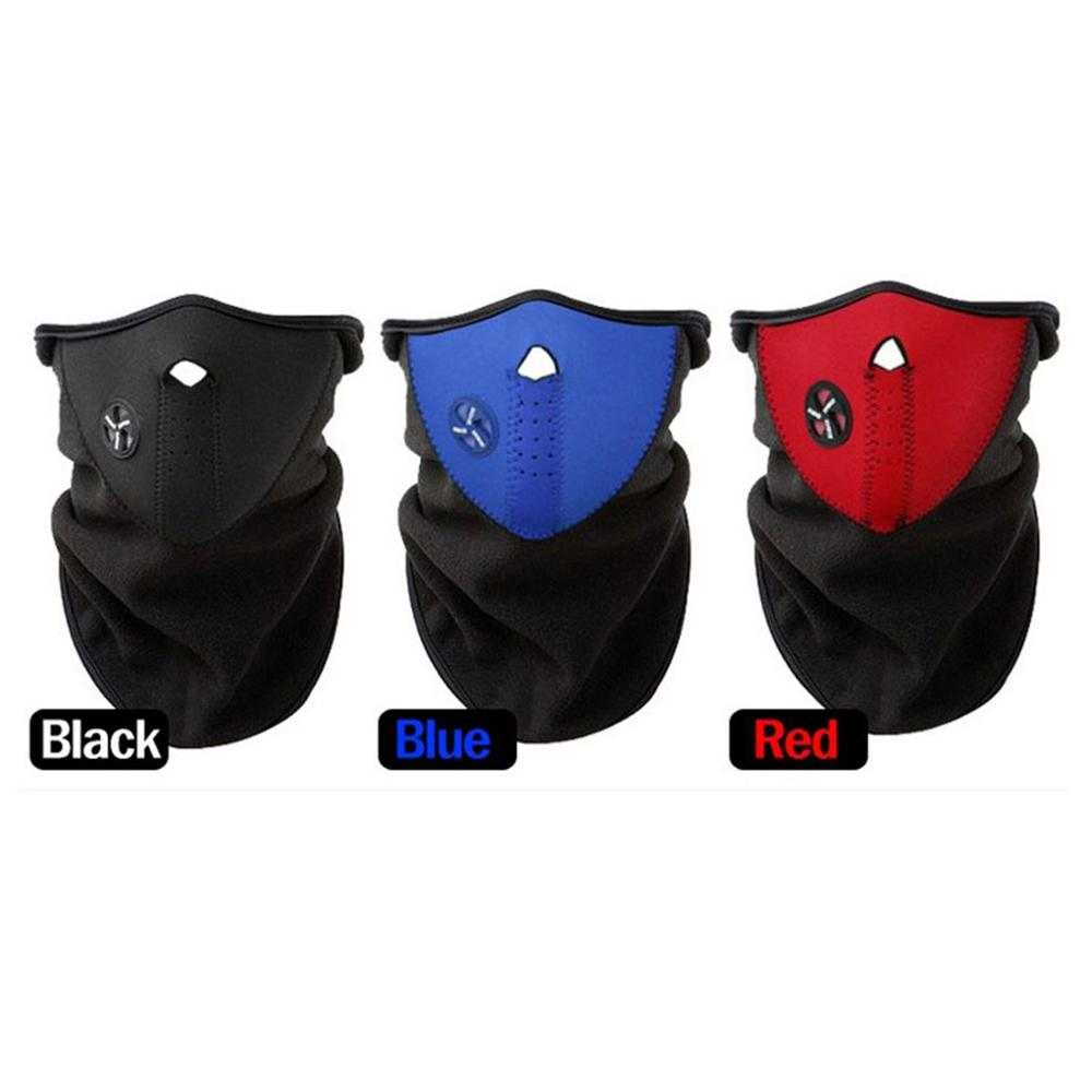 Warm Windproof Dustproof Gas Mask Soft Comfortable To Wear Design Of A Person'S Face Prevent The Cold Wind 1 Pcs