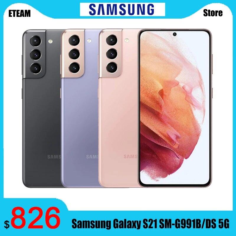 "Global Version Samsung Galaxy S21 SM-G991B/DS 5G Smartphone 8GB 256GB 6.2"" 120Hz Samsung Exynos 2100 Mobil phone NFC IP68 1"