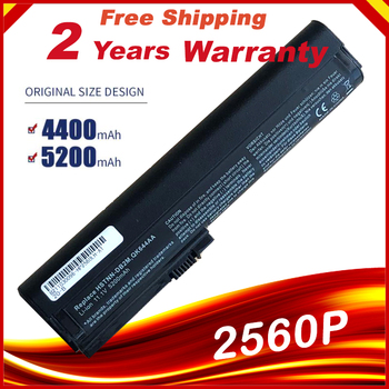Battery for HP EliteBook 2560p 2570p HSTNN-UB2L 632421-001 SX06XL QK644AA  HSTNN-DB2K HSTNN-DB2M 632015-241 - discount item  23% OFF Laptop Parts & Accessories