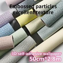 3D Wallpaper Thickening Self-Adhesive Wall Stickers Waterproof Wallpaper Living Room Bedroom Children
