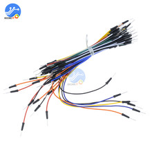 65pcs Breadboard Jumper Cables For Arduino Jump Code Wire Kit Set Bread plate line
