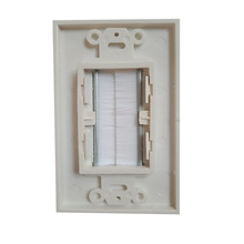 Панель со вставной крышкой, одноступенчатая настенная розетка, прочная многофункциональная домашняя Проходная Монтажная розетка, простая ...