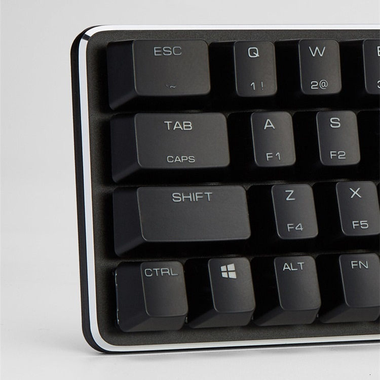 עכברים - מקלדות Magigforce Smart 49 מפתח 40% USB Mini Wired backlit מקלדת מכנית עם Detacheable בכבלים Gateron שרי ציר teclado גיימר (4)
