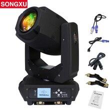 200 واط LED Lyre تتحرك رئيس ضوء بقعة إضاءة شعاعية ضوء ل DJ ديسكو ملهى ليلي حفلة/SX MH200A