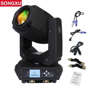 Image 1 - 200W LED Lyre 이동 헤드 라이트 빔 스포트 라이트 DJ 디스코 나이트 클럽 파티/SX MH200A