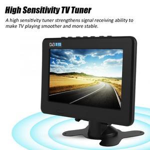 Image 5 - スマートカーテレビ 10 インチ DVB T T2 16:9 hd 1080 p デジタルアナログポータブルテレビカラーテレビプレーヤー用 eu プラグ