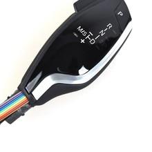 Pommeau de levier de vitesse pour voiture avec lumière LED, 1 série longue et courte
