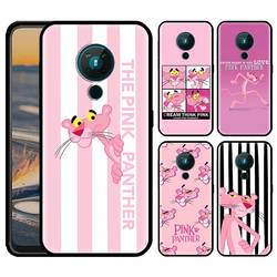 Funda de teléfono de Pantera Rosa para Nokia, funda de silicona suave negra para Nokia 2,2, 2,3, 3,2, 3,4, 4,2, 6,2, C5, Endi, C2,