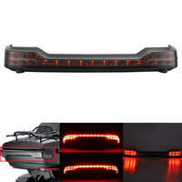 Moto Tour Pack Trunk Travel Pak Luggage Wrap Round LED Running Brake Tail Light For Harley Touring Glide FLTHT FLTR FLHX FLHR