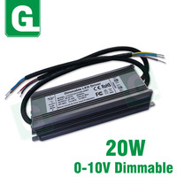 Constant Current LED Dimming Drive 20W Power Supply 700mA 0 10V Light Transformer AC90 277V Input For DIY 20W LED lights