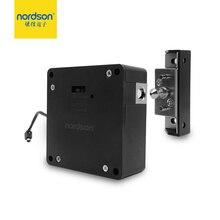 Nordson электронный Определитель частоты радиосигнала скрытый Болт шкаф фиксированный аккумулятор питание мебельный замок ящика дома для бассейна, тренажерного зала