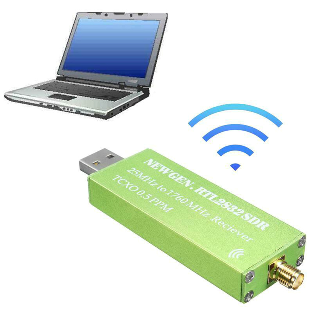 USB 2.0 RTL-SDR 0.5 PPM TCXO RTL2832U RTL2832 TV Tuner bâton AM FM NFM DSB USB LSB SW Radio SDR TV récepteur Scanner récepteur