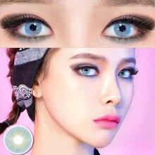 2 шт Цвет ed контактные линзы queen серии глаз натуральный для