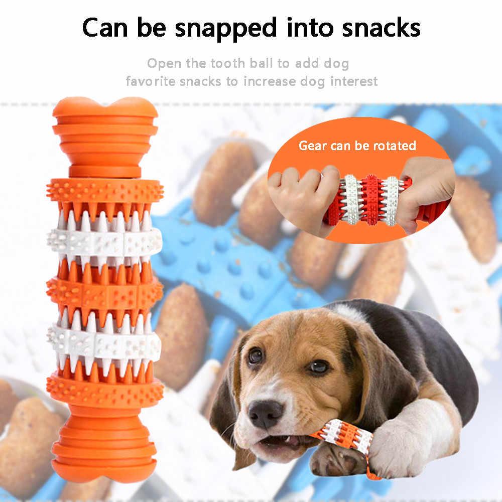 Cepillo de dientes para perro, mascota, perro, juguetes para masticar, cepillo para la dentición de cachorro, para mascotas suministros @ un