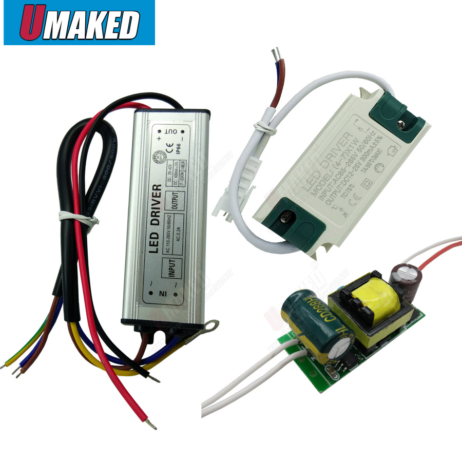 <font><b>LED</b></font> <font><b>Driver</b></font> Constant Current Lamp Power Supply 300mA 1W 3W 5W 7W <font><b>9W</b></font> 10W 20W 30W 36W 50W Isolation Lighting Transformer image