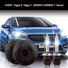 цена на Car Headlight Bulbs Xenon FOR CHERY Tiggo 8 Tiggo 7 ARRIZO 5 ARRIZO 7 Xenon H7 5500K 55 W CHERY Series Headlight Bulbs