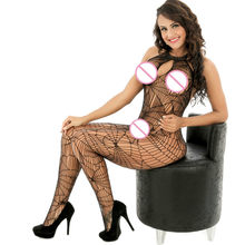 Transparent Full slips women Lingerie intimates sexy hollow Lace slip hot female lingerie hot sleep top Elasticity underwear(China)