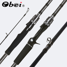 OBEI Spurs 1.98m 2.28m 2.58 3 section bait casting fishing r