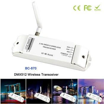 BC-870 DC 5V-36V DMX512 Wireless Transceiver Multi-usage DMX signal transmitter set as a receiver or emitter controller цена 2017