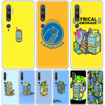 Lyrical Lemonade Phone Case cover hull For XIAOMI MI 3 4 5 5X 8 9 10 se max pro a2 9T note lite transparent coque painting Etui image