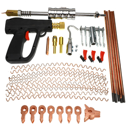86 Pcs Car Body Repair Tools Dent Puller kit Spot Welding Spotter Welder Gun Removing Straightenging Dents Remover Device Set