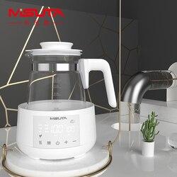 Hervidor de agua eléctrico de 220 V, hervidor de agua y leche para bebés con temperatura constante, termostato inteligente para leche, hervidor inteligente para alimentación de bebé
