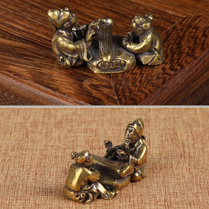 copper figurines  (5)