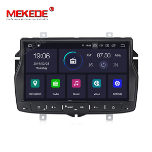 Image 2 - Russian menu free shipping 4G RAM 1din car radio multimedia DVD player for Lada vesta Android 9.0 Octa core with wifi BT GPS