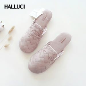 Autumn sweet pink home shoes w