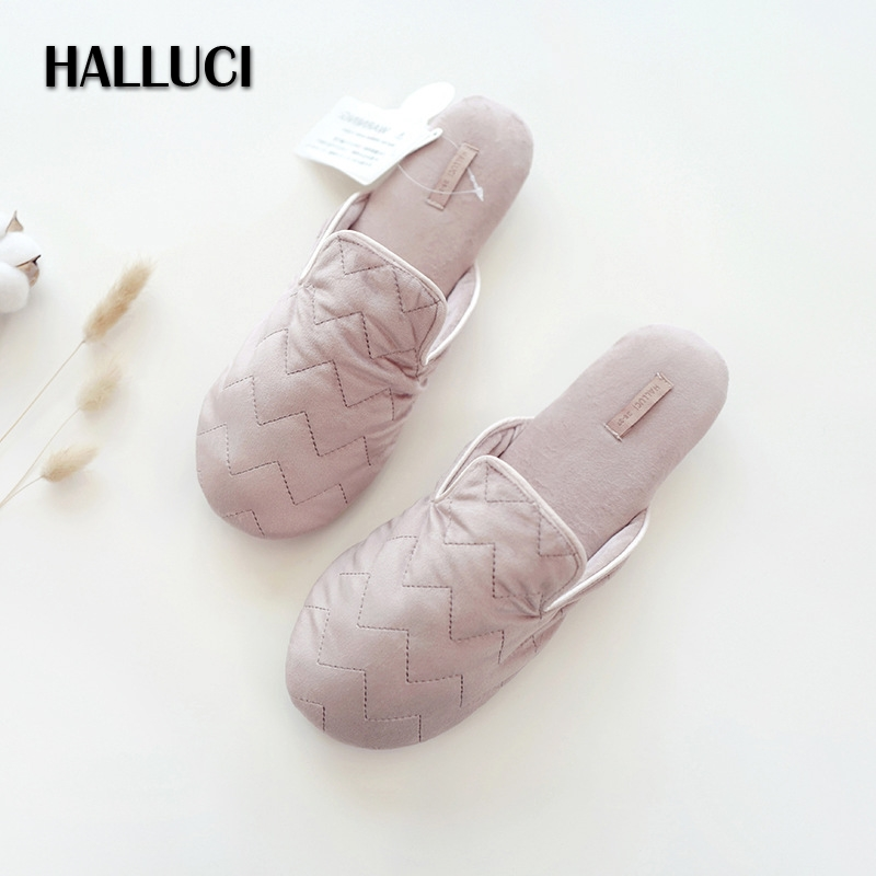 Autumn Sweet Pink Home Shoes Women Slippers Fashion Soundless Home Office Slides Non-slip Comfortable Indoor Slippers Woman New