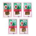 Швейные иглы singer разных размеров, 50 шт., бытовые швейные иглы 2020 HAX1 705H