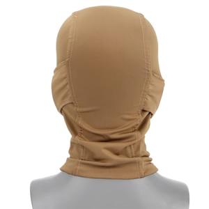 Image 4 - Hooded Bivakmuts Tactical Masker Helmen Steel Mesh Volledige Geconfronteerd Hals Beschermende Jacht Gel Blaster Airsoft Paintabll Accessoires