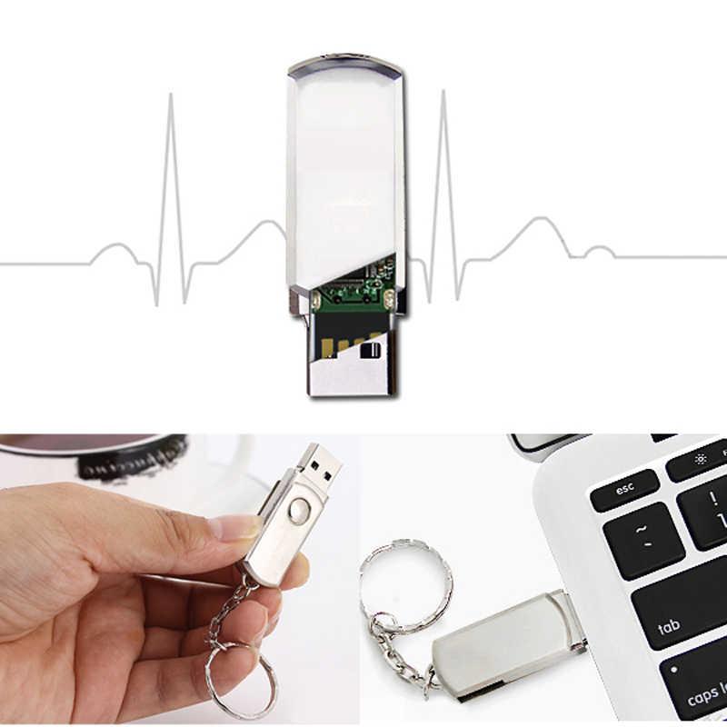 Metallo Pendrive Chiave Anello Usb Flash Drive 4gb 8gb 16gb 32gb 64gb Disco di Archiviazione di Alta velocità di Memoria Bastone Su 10pcs Marchio Su Ordinazione Libero