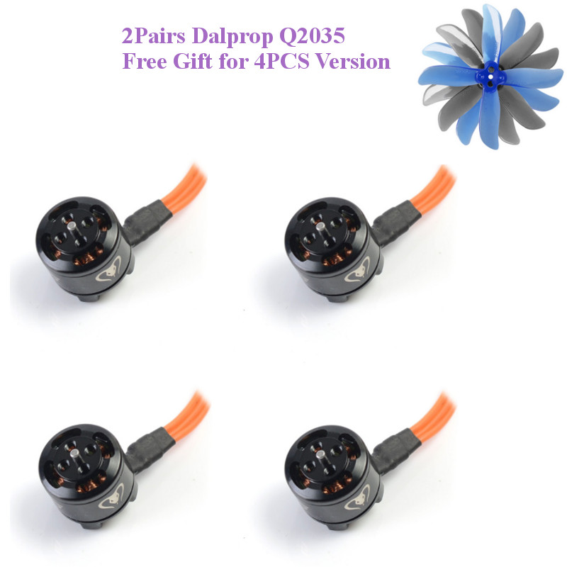 4PCS Diatone MAMBA 1105 5500KV 2-4S Brushless Motor For Diatone GT R239 R249 R249+ FPV Racing RC Drone