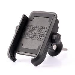 Śruba rowerowa telefon stacjonarny uchwyt do montażu 360 obrót poziomy rower ze stopu aluminium Cilp do telefonu komórkowego 4